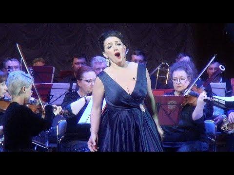 """С.Рахманинов. """"Не пой, красавица, при мне"""" - Светлана Мареева и Ступинский симфонический оркестр."""