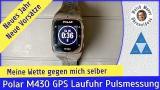 Gute Vorsätze: GPS Laufuhr Polar M430 mit Pulsmessung