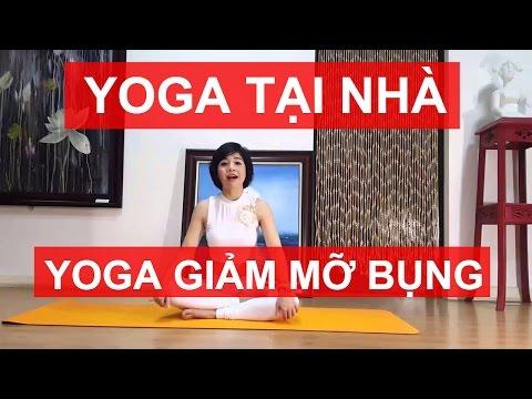 Yoga giảm mỡ bụng | Bài tập giảm eo hai bên, đánh tan mỡ bụng trước (Yoga For Weight Loss)