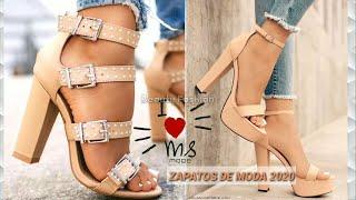Zapatos De Moda 2020 Mujer  👠  Sandalias Calzados En Tendencias Fashion Shoes 2020