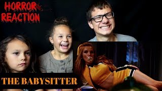 THE BABYSITTER Official Trailer Reaction!!!