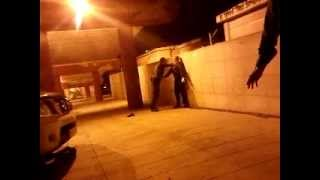 preview picture of video 'Guardia Civil de Villalba pillada infraganti maltratando sin justificación a Joven Migrante.'