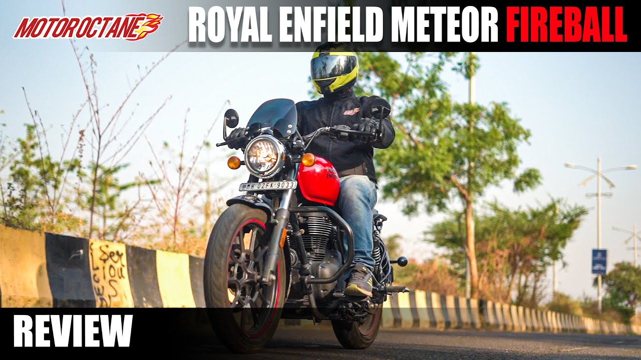 Motoroctane Youtube Video - Royal Enfield Meteor 350 Fireball - Accessories and style