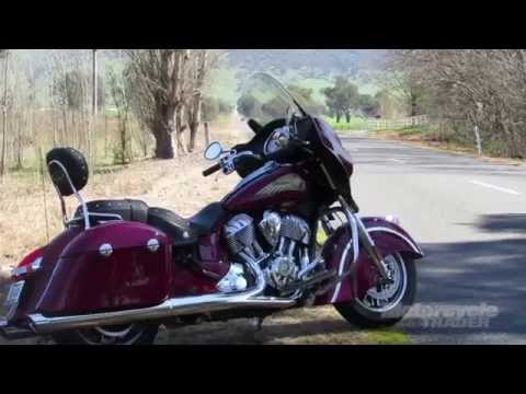 2015 Indian Chieftain Road Test