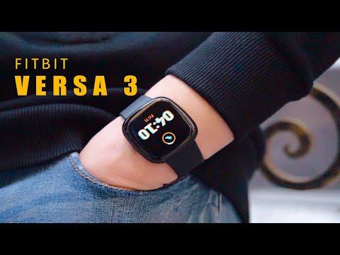 Đồng hồ thể thao Fitbit Versa 3 - Nguồn cảm hứng giúp bạn tiến về phía trước