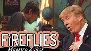Gambar cover Donald Trump Sings Fireflies by Owl City
