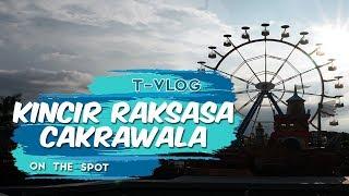 Sensasi Serunya Menaiki Wahana Kincir Raksasa Cakrawala, Wahana Favorit di Saloka Theme Park