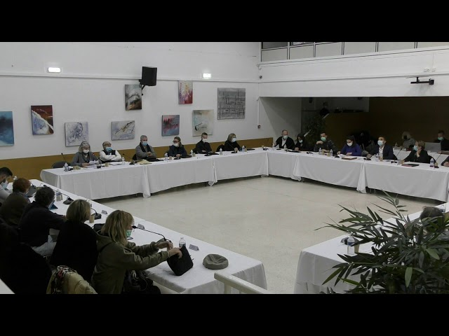 Conseil Municipal de Carqueiranne 14 décembre 2020