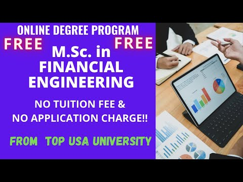 Free Online Degree  in Financial Engineering | M.Sc. Degree | ABCS