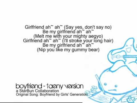 Boyfriend - TaeNy Version Mp3