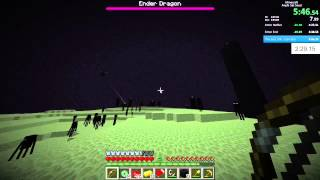 Minecraft Former World Record Speedrun   5:27 (set Seed With Glitches)