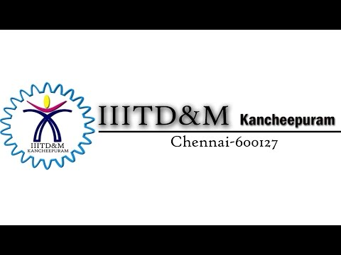 Indian Institute of Information Technology, Design and Manufacturing, Kancheepuram video cover1