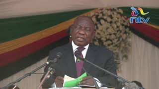 President Ramaphosa booed, apologizes for xenophobic attacks in SA