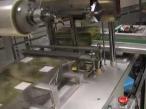 Minipack over wrapping machine sample