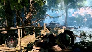 Sniper Ghost Warrior 2 - Gameplay on 7950 Full HD