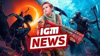 IGM News: школьник-киберспортсмен и длинная God of War