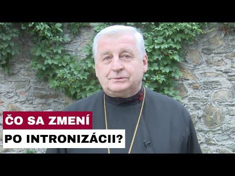 Príhovor vladyku Jána Babjaka k  intronizácii vladyku Cyrila Vasiľa