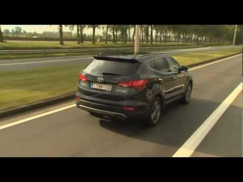 New Hyundai Santa Fe    2013 new video