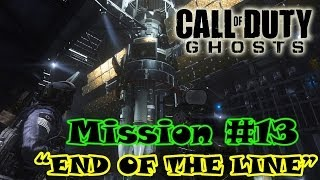 preview picture of video 'Call Of Duty Ghosts Campaign Mission #13 - END OF THE LINE'