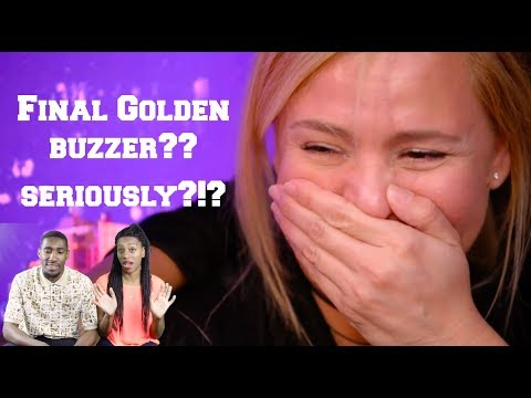 Angelina Green: 13-Year-Old Singer - Golden Buzzer - America's Got Talent - REACTION! (видео)