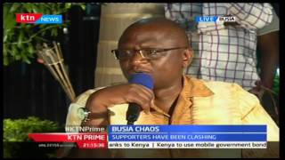 Sospeter Ojamong and Paul Otuoma elaborate on the cause of tension and chaos experienced in Busia