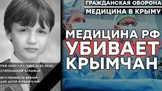 Как Россия истребляет жителей Крыма | Медицина в Крыму 2018 – Гражданская оборона