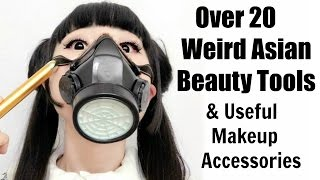 Over 20 Weird Asian Beauty Tools And Useful Makeup/Accessories