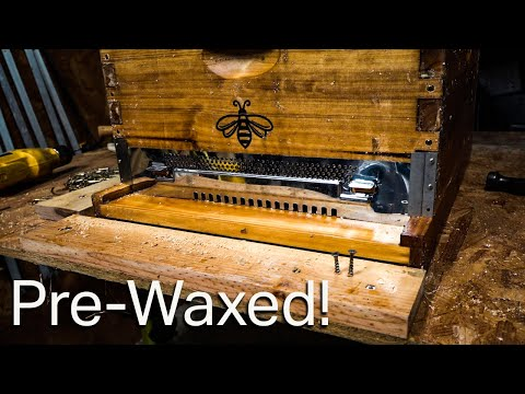 , title : 'Honey Bee Hive 10 Frame 100% Pre Waxed, By Hoover Hive, Sold by Galena Farms, My Review.