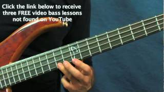 easy bass guitar song lesson scotland the brave traditional celtic
