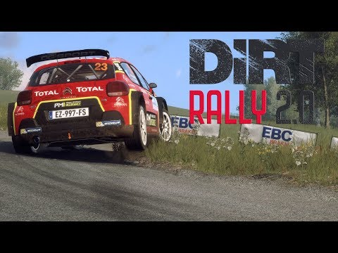FIRST LOOK | DIRT RALLY 2.0 | CITROEN C3 R5 | RALLY GERMANY | CHASE/TRACKSIDE