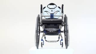 Taška k invalidnímu vozíku s pevným rámem TARTA BAG - TARTA BAG video 2