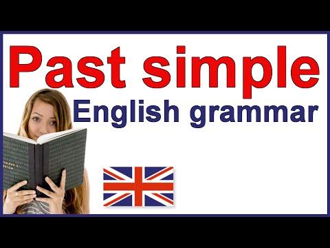 Past simple tense | English grammar rules