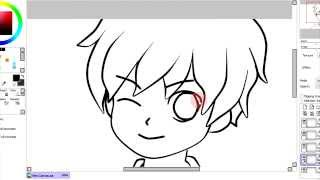 how to use paint tool sai with a mouse
