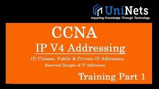 IPV4 Addressing - IP Address Video Tutorial, Computer Network Training Part 1