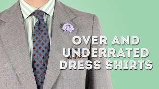 13 Most Over and Underrated Dress Shirts for Men