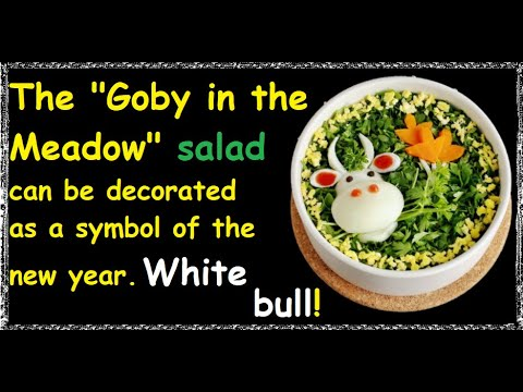 "Salad ""Goby on the Meadow"" / Book of recipes / Bon Appetit"