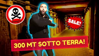 ANDIAMO A 300 METRI SOTTO TERRA! *caverna del sale*