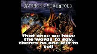 Avenged Sevenfold - 4:00 AM [lyrics]