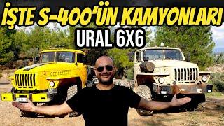 S-400 Kamyonları Ural 6x6'ları Bulduk   Hem de tam 7 tane