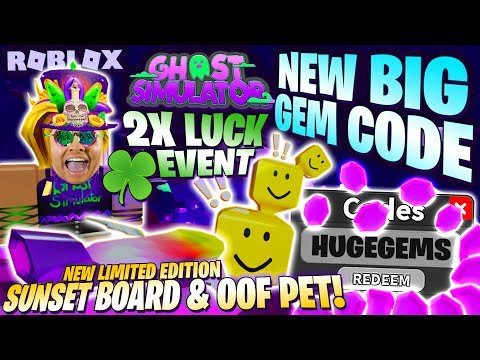 Steam Community Video New Big Gem Code 2x Luck Event Oof