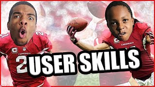 LARRY FITZGERALD OR PATRICK PETERSON? WHO'S BETTER? - User Skills Challenge Ep.10