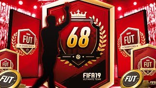 68TH IN THE WORLD FUT CHAMPIONS REWARDS - FIFA 19 ULTIMATE TEAM