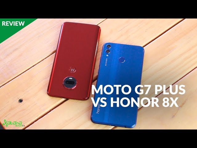 Moto G7 Plus VS Honor 8X: El TRONO de la GAMA MEDIA es para...