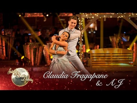 Claudia Fragapane & AJ Viennese Waltz to 'Breakaway' by Kelly Clarkson – Strictly Come Dancing 2016