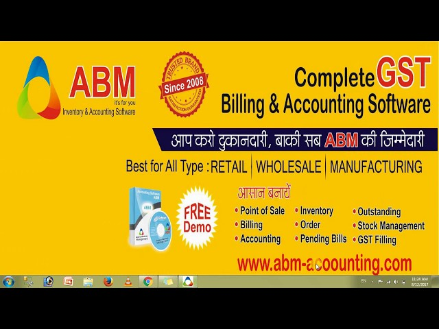ABM - GST Accounting Software Pricing, Features & Reviews 2019
