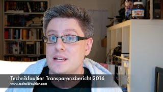 Technikfaultier Transparenzbericht 2016 - dooclip.me