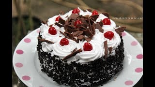 Black Forest Cake Without Oven