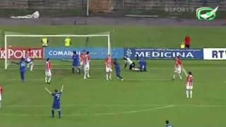 Cracovia - Wisła 1:1. Sędzia nie uznaje gola Głowackiego