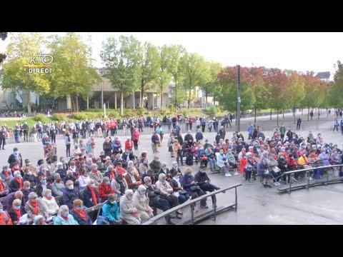 Messe de 10h à Lourdes du 28 septembre 2021
