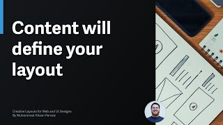 Content Will Decide The Layout Of Your Web Design Or Mobile Apps